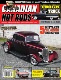 Canadian Hot Rod Magazine June July 2017 Volume 12 Issue 4