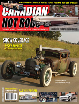 Canadian Hot Rod Magazine October November 2018 Volume 14 Issue 1