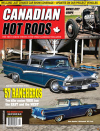 Canadian Hot Rod Magazine Feburary and March 2019 Volume 14 Issue 3