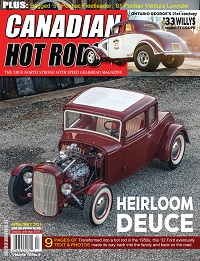 Canadian Hot Rod Magazine December and January 2020/21 Volume 16 Issue 2
