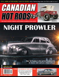 Canadian Hot Rod Magazine June and July 2020/21 Volume 16 Issue 5