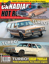 Canadian Hot Rod Magazine August and September 2021 Volume 16 Issue 6