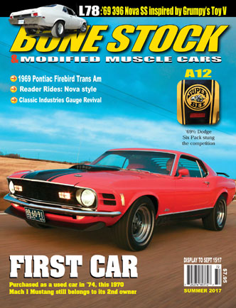 Bone Stock Hod Rod Magazine Summer 2017